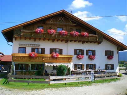 Ansicht unseres Hauses in Schwangau