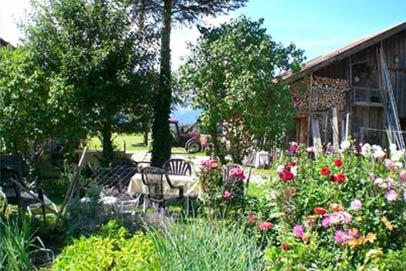 Foto unseres Gartens in Schwangau